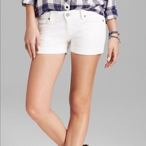 PAIGE Shorts - Paige Jimmy Jimmy Short – White, Size 28